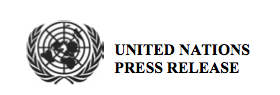 United Nations Press Release